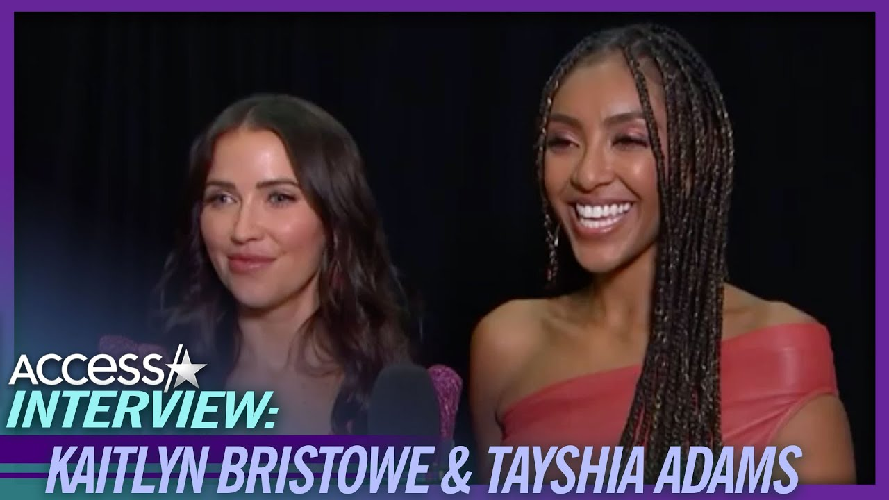 Tayshia Adams & Kaitlyn Bristowe On Who They Want To Be 'The Bachelor'