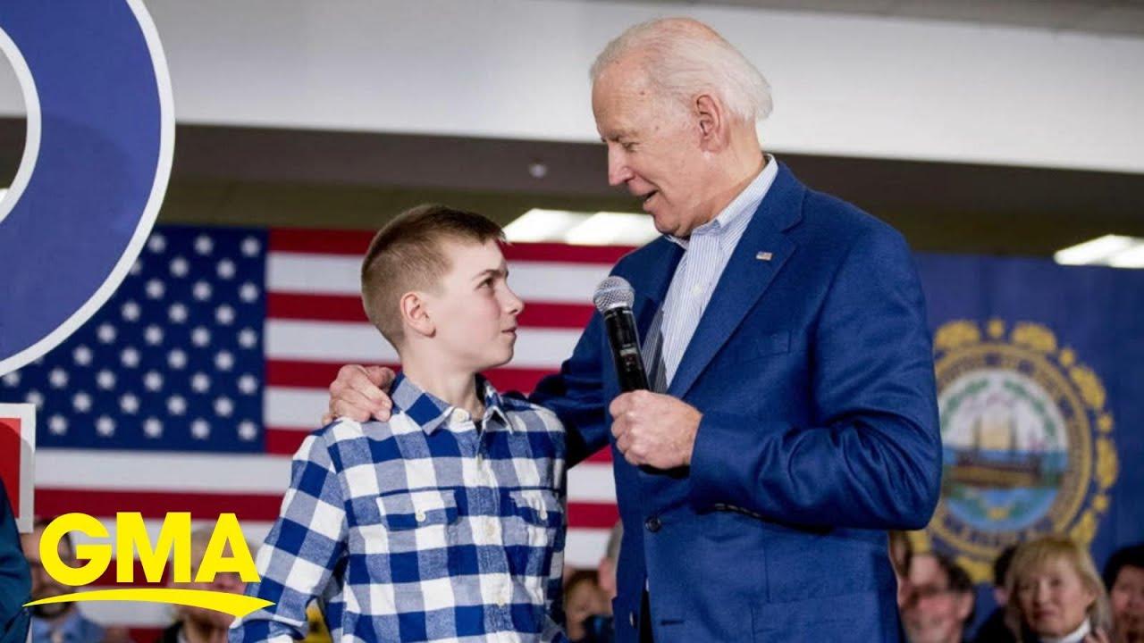 Teen bonded with President Biden over speech impediment