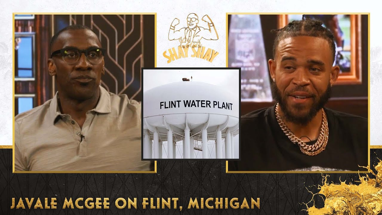 Flint was a thriving Black community before the water crisis, JaVale & Pamela McGee explain   EP. 36