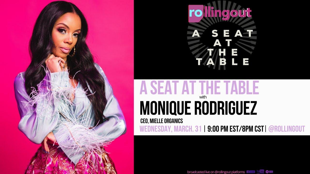 SEAT AT THE TABLE: Mielle Organics CEO, Monique Rodriguez