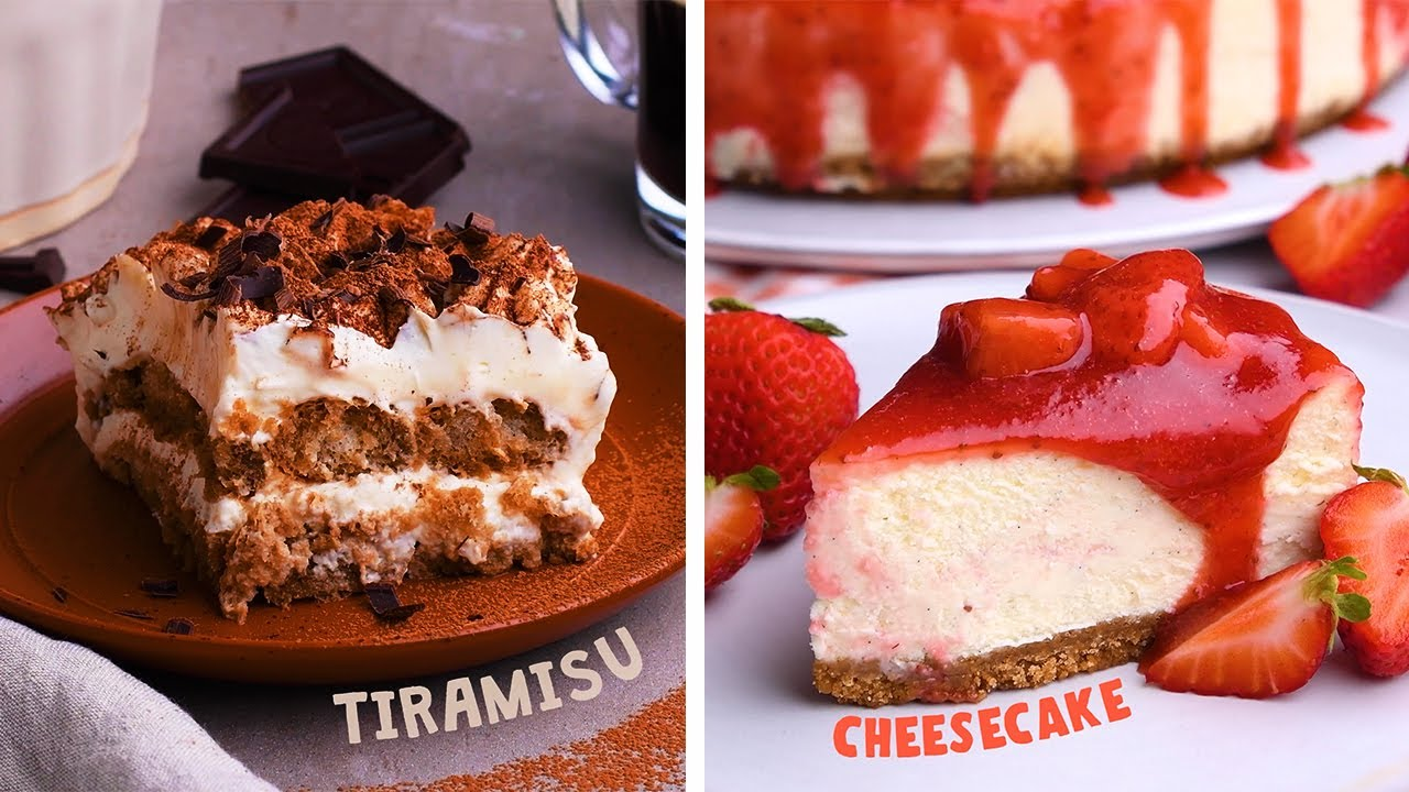 Can You Guess the Desserts We're Making Before the Clock Runs Out? So Yummy