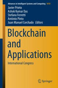 [FREE EBOOK] Blockchain and Applications