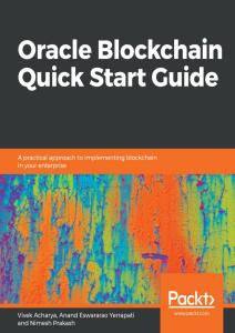 Oracle Blockchain Services Quick Start Guide