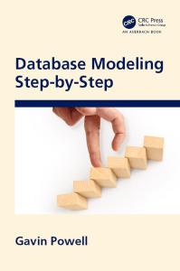 Database Modeling Step by Step