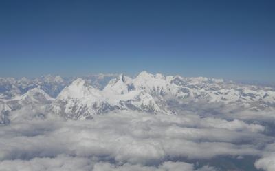 Himalaya văzută din avion