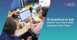 Hire a web developement team