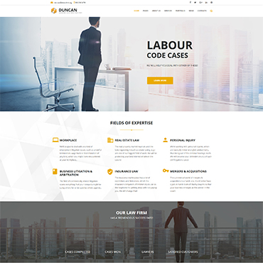 Lawyer website designer