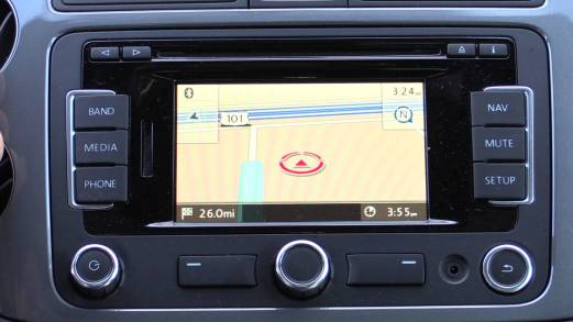 Volkswagen Passat Navigation DVD Western Europe photo