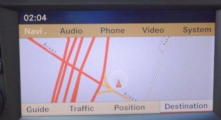 Mercedes E Class Navigation DVD photo 1
