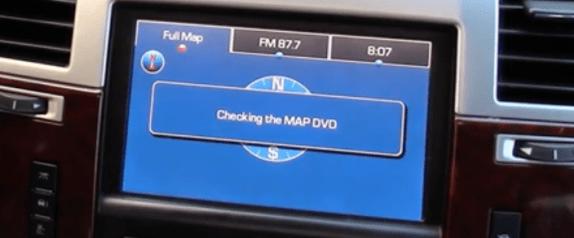 Cadillac Escalade Nav DVD Map Update US / Canada 2018 proof