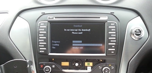Ford MCA Navigation Plus SD Card EUROPE 2019 1