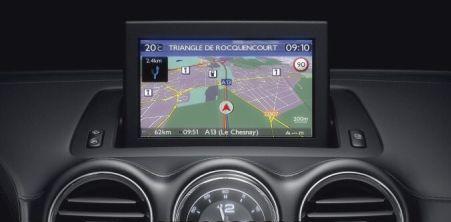 Peugeot WipNav Sat Nav SD Card Maps