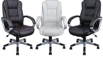 Tremendous Ergonomic Leather Office Executive Chair Computer Hydraulic Download Free Architecture Designs Grimeyleaguecom