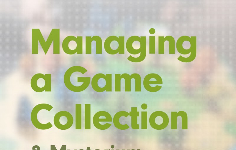 #18: Managing a Collection; and Mysterium