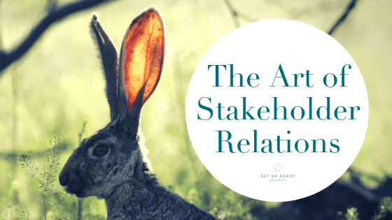 How to Strategically use Stakeholder Relations