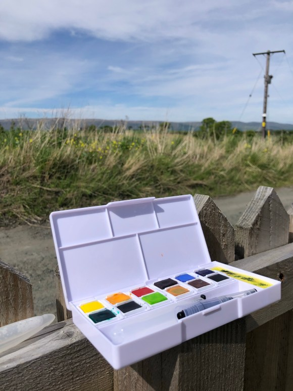 Outdoor painting set