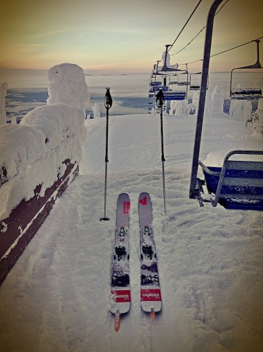 Parking Space for the Skis