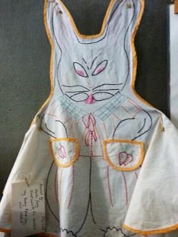 Bunny Apron at Iuka Mississippi