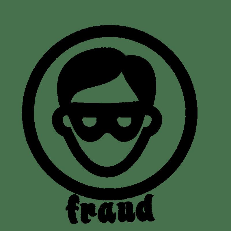 masked fraudster