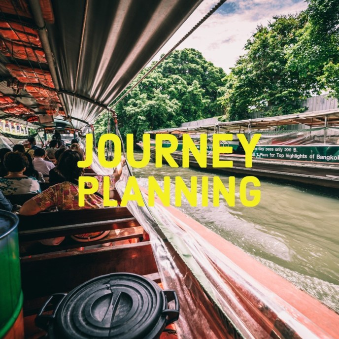 Journey Planning Get Out There Tours