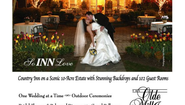 Magazine Ad for NJ Brides for the Olde Mill Inn