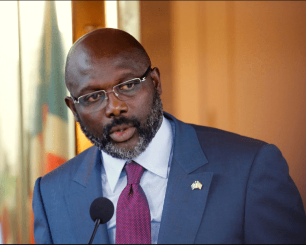 Liberian students celebrate as President George Weah declares Education is free at Public Universities (Video)