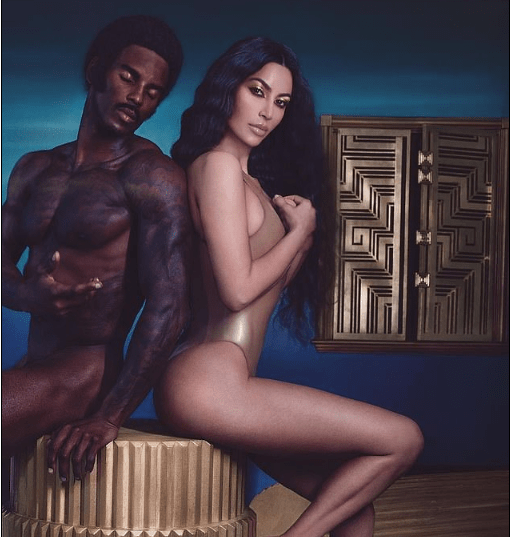 Kim Kardashian slammed by fans for photoshopping her Fake Butt to look Smaller in new photo with naked model