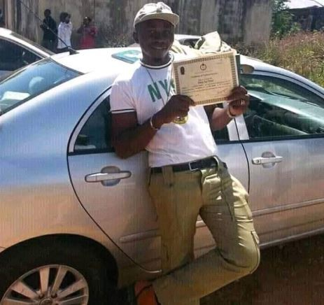 Ex-corps member, Ochoche Dickson Iduh shot dead moments after presenting his discharge certificate to his parents