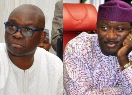 Governor Fayemi seals two house allegedly owned by Fayose in Ekiti State