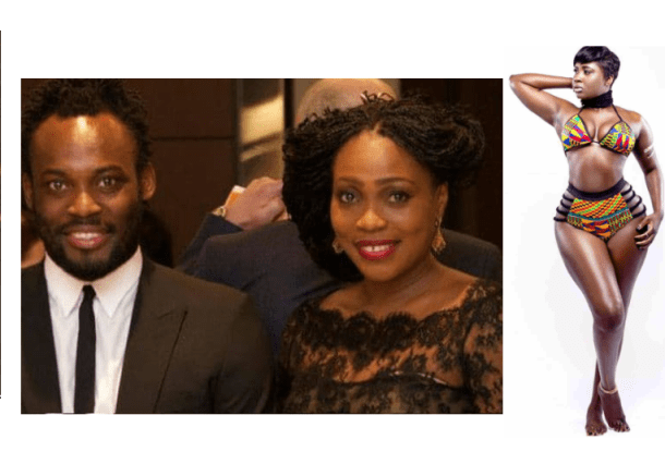 Princess Shyngle calls Michael Essiens wife the Dumbest Wife Of The Year for reportedly moving out of their home over her 'affair' with the footballer