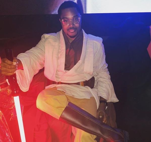 Check outBillionaire son, Paddy Adenuga's outfit for Halloween