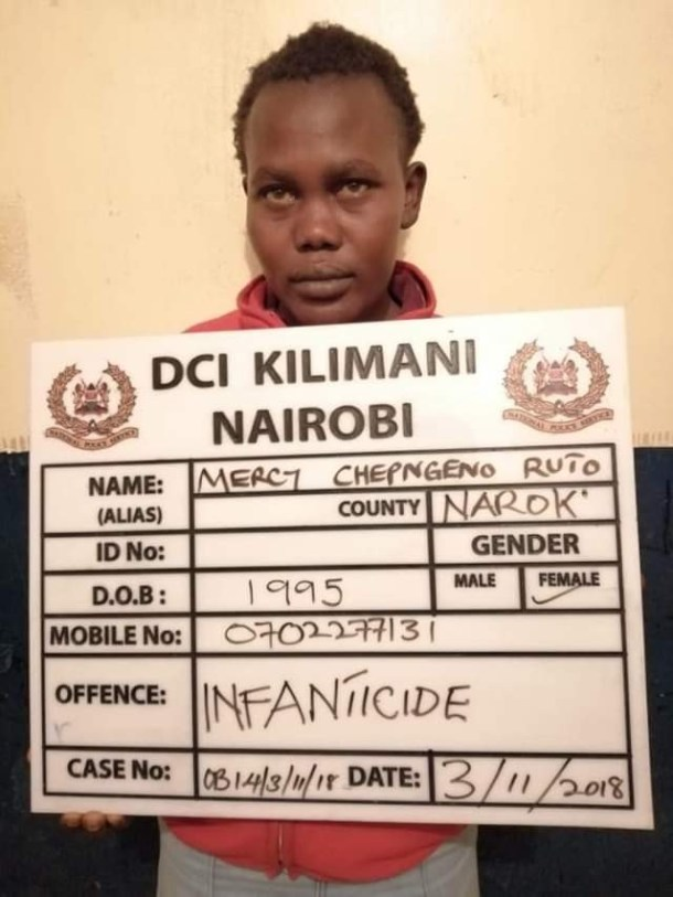 22-year-old Kenyan mother strangles her baby, disposes body at dumpsite
