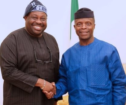 No one would have noticed the palpable weaknesses of this government if Osinbajo was allowed to run shows in a more professional manner - Dele Momodu