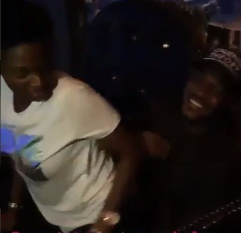 Again, Annie twerks for her hubby, 2face Idibia (Video)