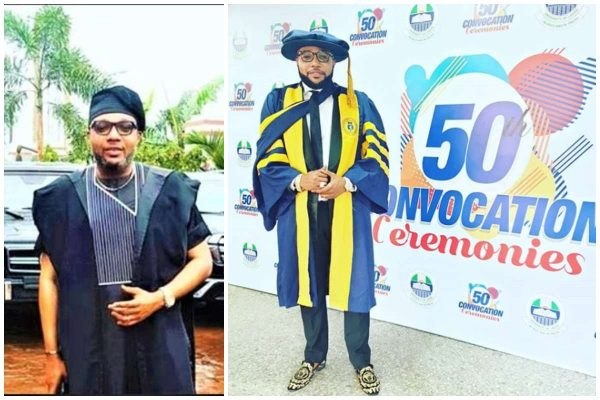 E-Money receives honorary doctorate degree from UNILAG lailasnews