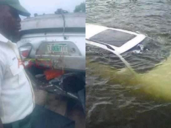 Mom taking her daughter to school, dies as their car plunges into river