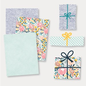 may flowers gift wrap