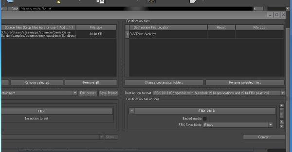 Autodesk FBX Converter Download 32-64Bit