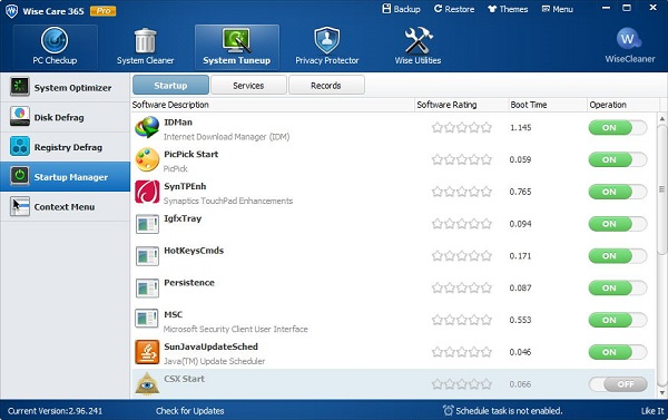 Wise Care 365 Download 32-64Bit