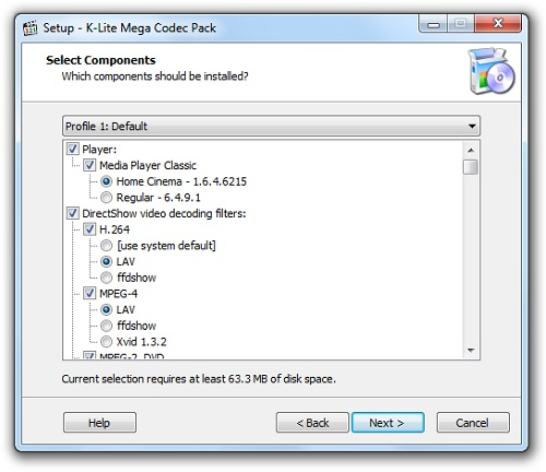 K-Lite Codec Pack Mega 14.6.5 Download 32-64 Bit