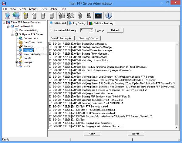 Titan FTP Server Enterprise Download 32-64 Bit