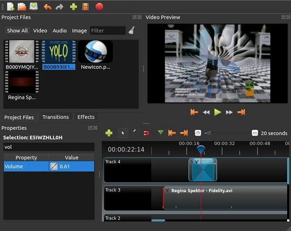 OpenShot Video Editor 2.4.4 Download 32-64 Bit
