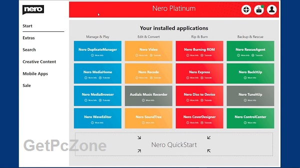 Nero Platinum 2020 Suite 22.0 Free Download