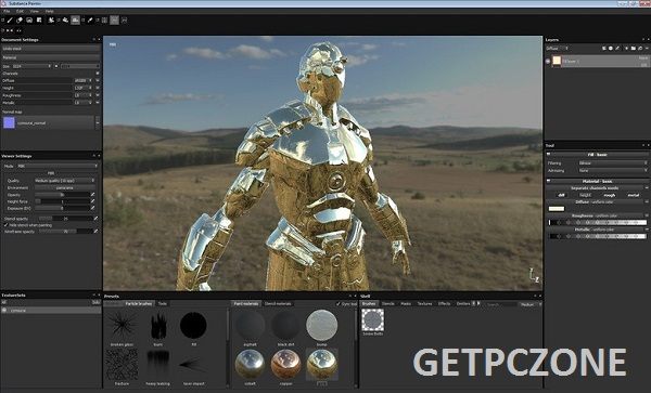 Download Allegorithmic Substance Painter 2019.3.1.3547 Free
