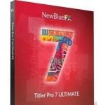 NewBlueFX Titler Pro 7.0 Ultimate Download