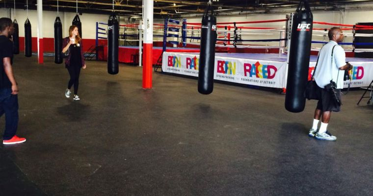 Downtown Boxing Gym Youth Program Grand Opening