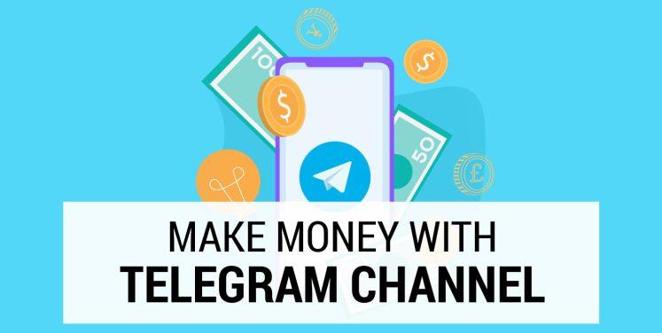 make money with telegram