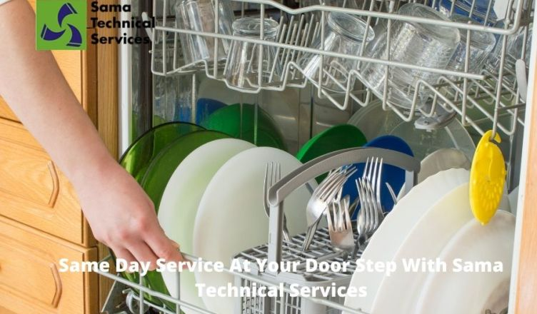 Same Day Dishwasher Repair Service At Your Door Step With Sama Technical Services