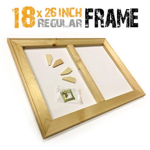 18x26 inch regular stretcher frame for canvas