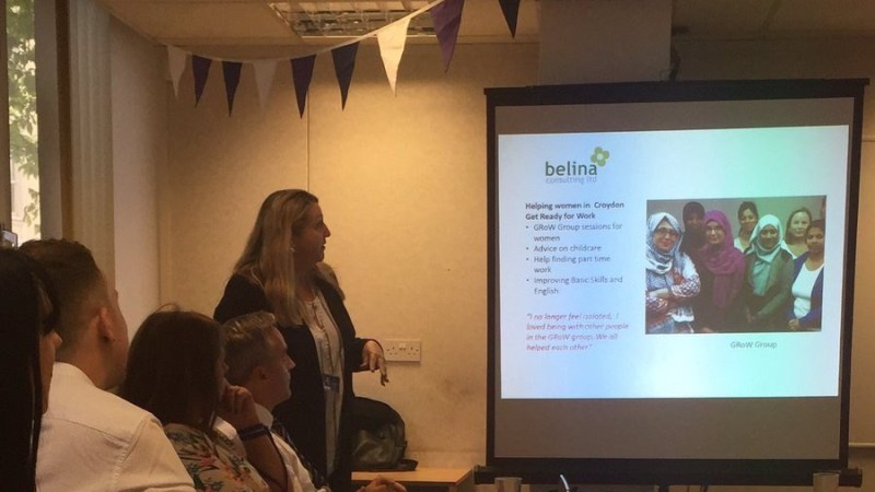 Kennedy Scott launch their new Help to Work project – Belina part of the team